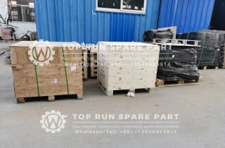 Packed XCMG spare parts for exporting to Dubai client